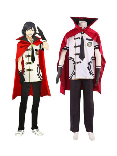 Milanoo Final Fantasy Type-0 Suzaku Peristylium Class Zero Machina Summer School Uniform Cosplay Costume Halloween