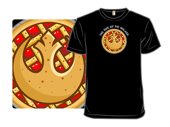 Just Here For The Pie Walker T Shirt