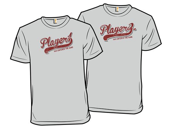 Player 1 Vs. Player 2 T Shirt
