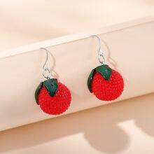 Fruit Design Drop Earrings