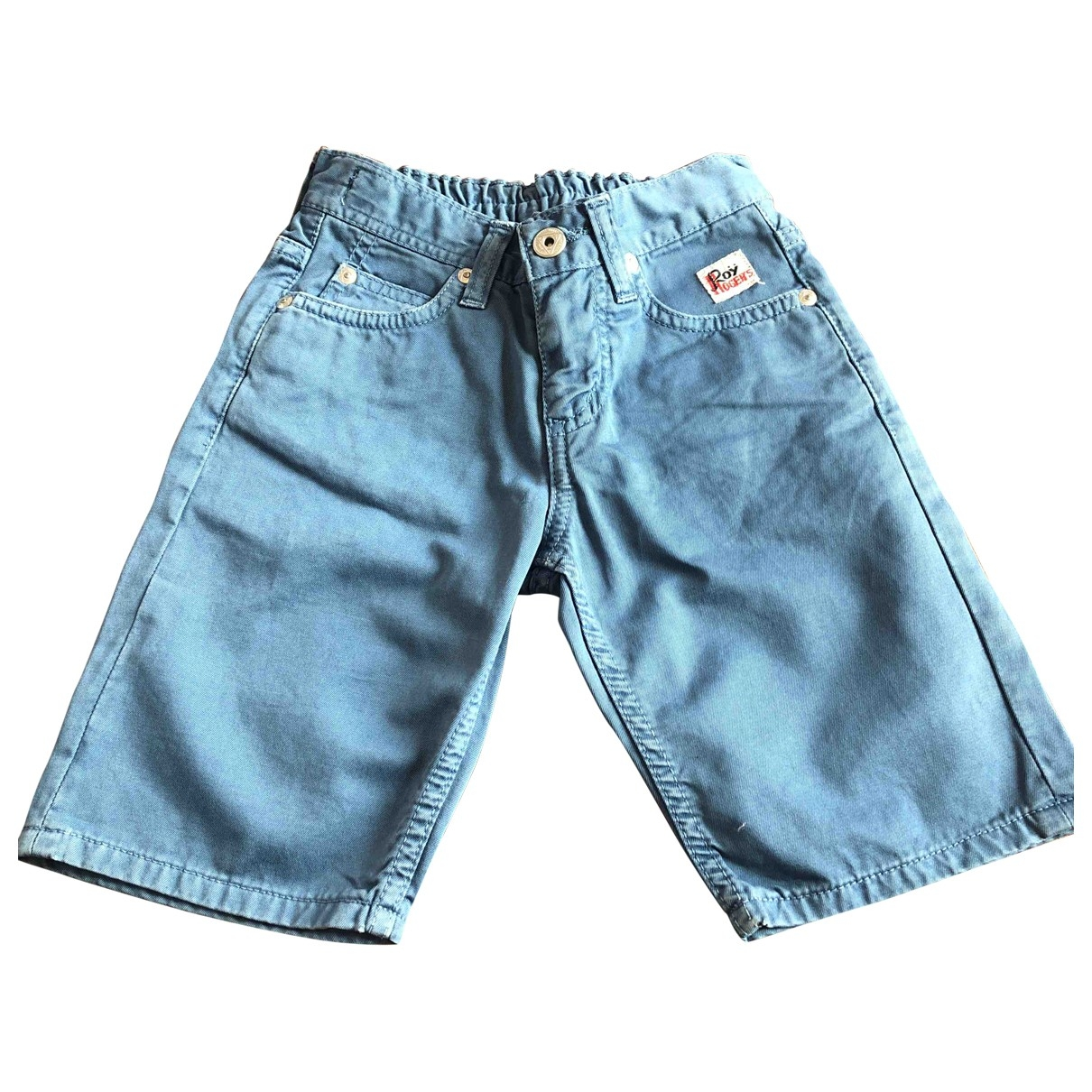 Roy Roger's \N Blue Cotton Trousers for Kids 4 years - up to 102cm FR
