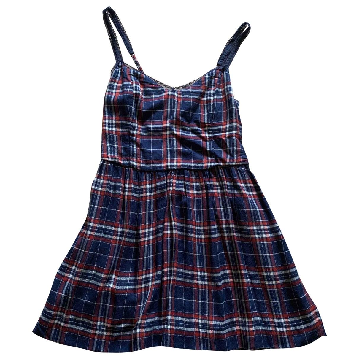 Abercrombie & Fitch \N Blue Cotton dress for Women M International