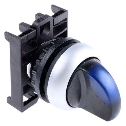 Eaton M22 Illuminated Selector Switch - 2 Position, Latching, 22mm cutout