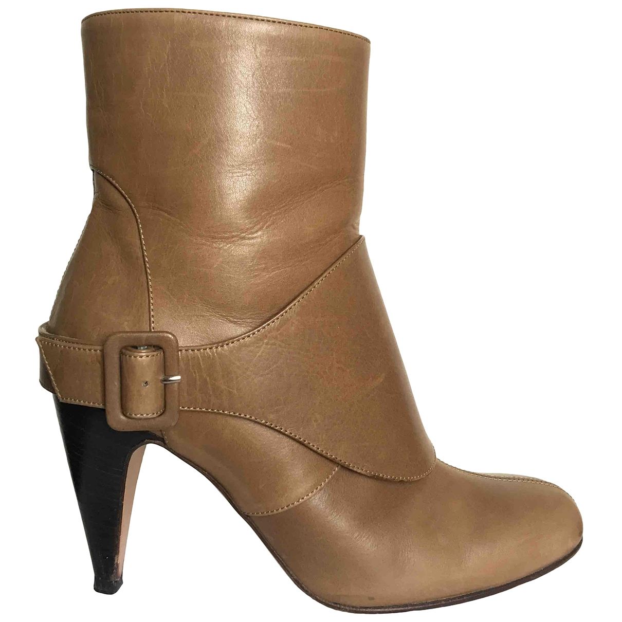 Marni \N Leather Ankle boots for Women 38 EU
