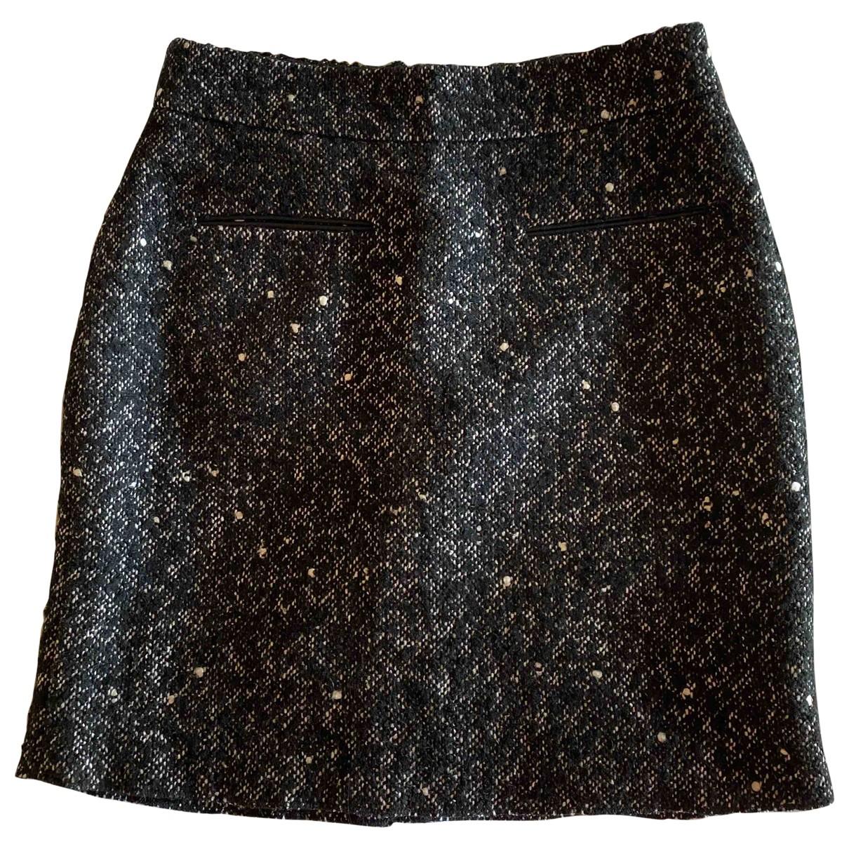 Claudie Pierlot \N Black Wool skirt for Women 38 FR