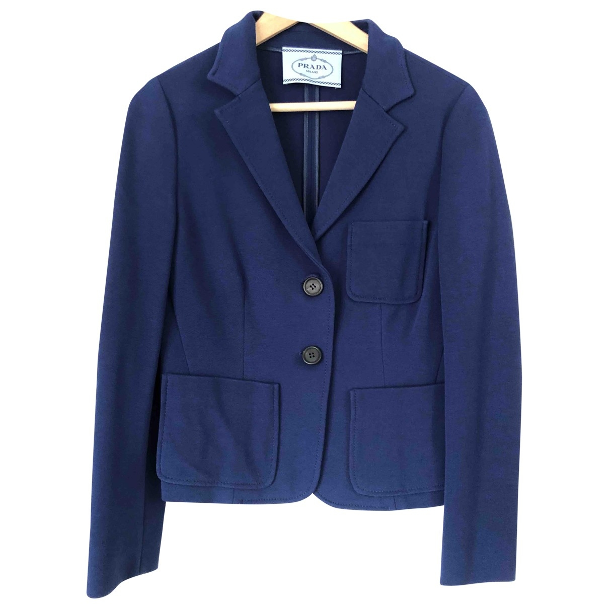 Prada \N Navy jacket for Women 40 FR