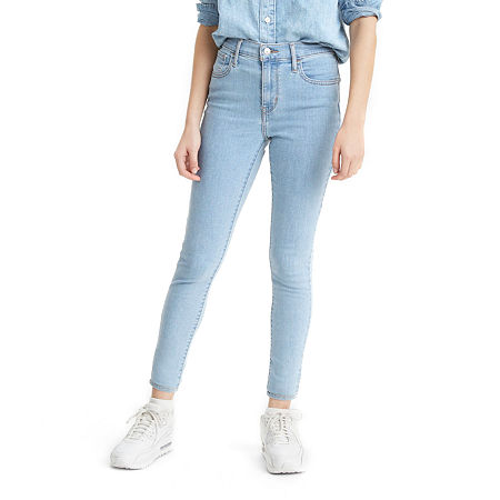 Levi's 720 High Rise Super Skinny Jean, 28 , Blue