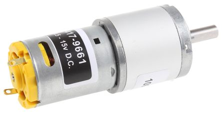 RS PRO , 12 V dc, 98 Ncm, Brushed DC Geared Motor, Output Speed 99 rpm
