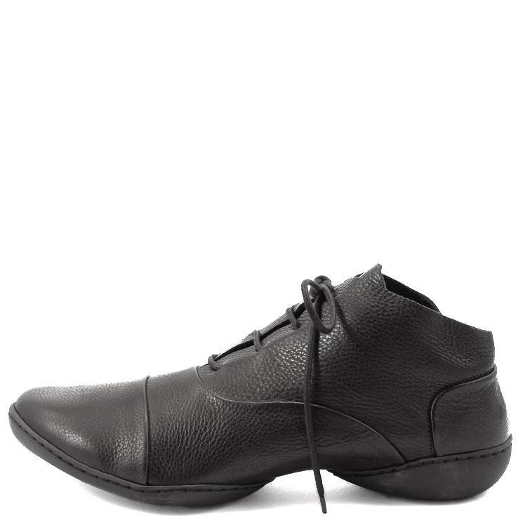Trippen, Prag m Cup Men's Lace-up Shoes, black Größe 46