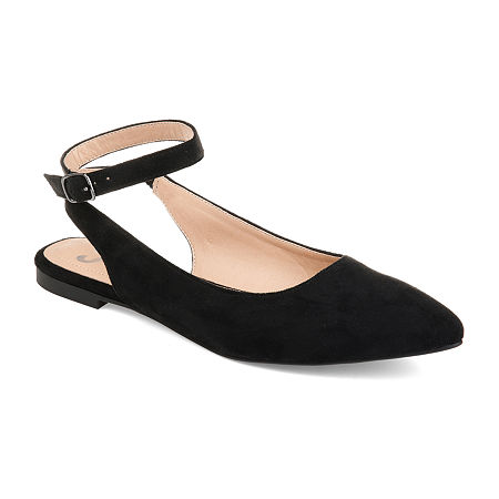 Journee Collection Womens Preea Slip-On Shoe, 6 1/2 Medium, Black