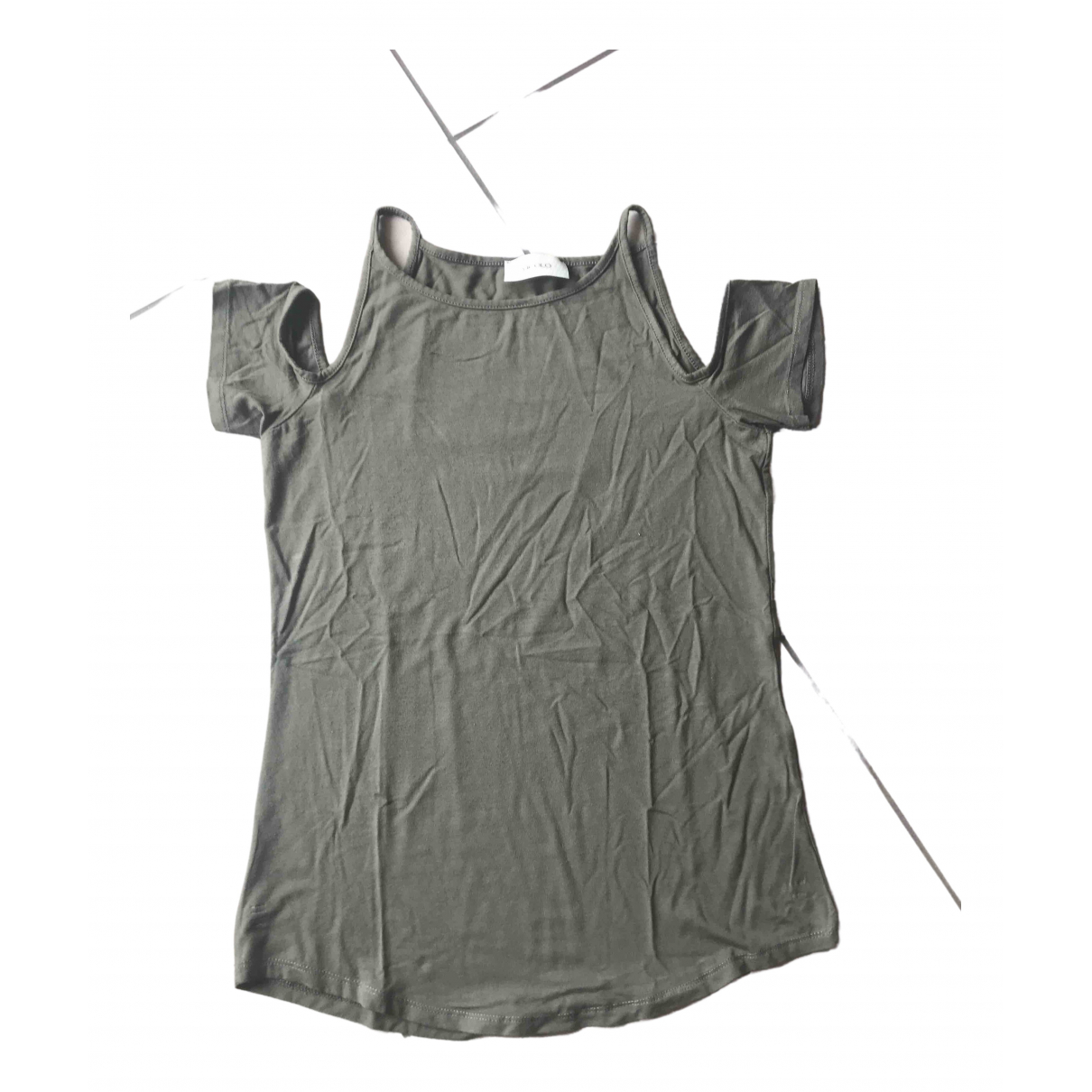 Vicolo \N Green Cotton  top for Women One Size International