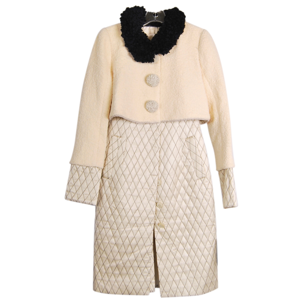 Zac Posen \N Beige Wool coat for Women 36 FR