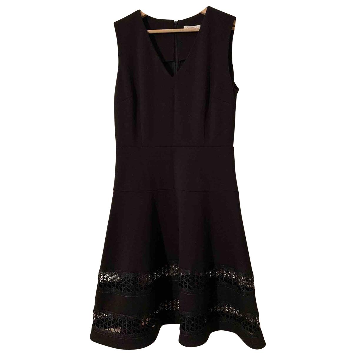 Calvin Klein \N Black Cotton dress for Women 38 FR