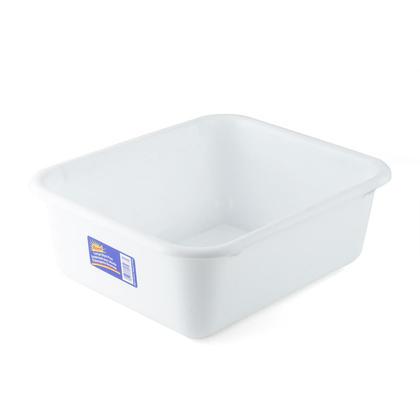 Large Rectangular Portable Plastic Wash Basins, 14