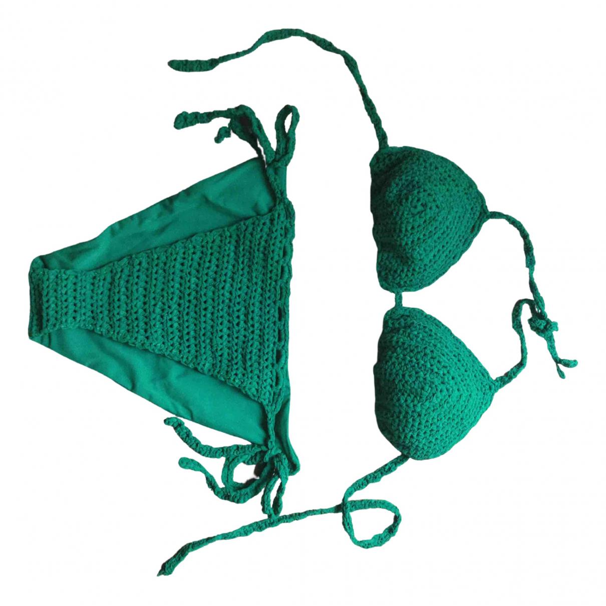 Ermanno Scervino \N Green Lycra Swimwear for Women 40 IT