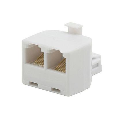 Adaptateur T 6P6C, 1x mâle à 2x femelle - Monoprice®