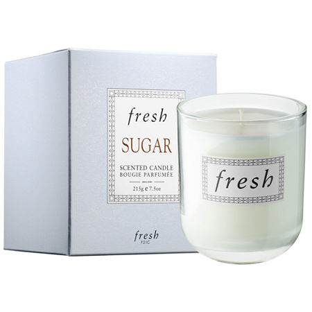 Fresh Sugar Scented Candle, One Size , No Color Family