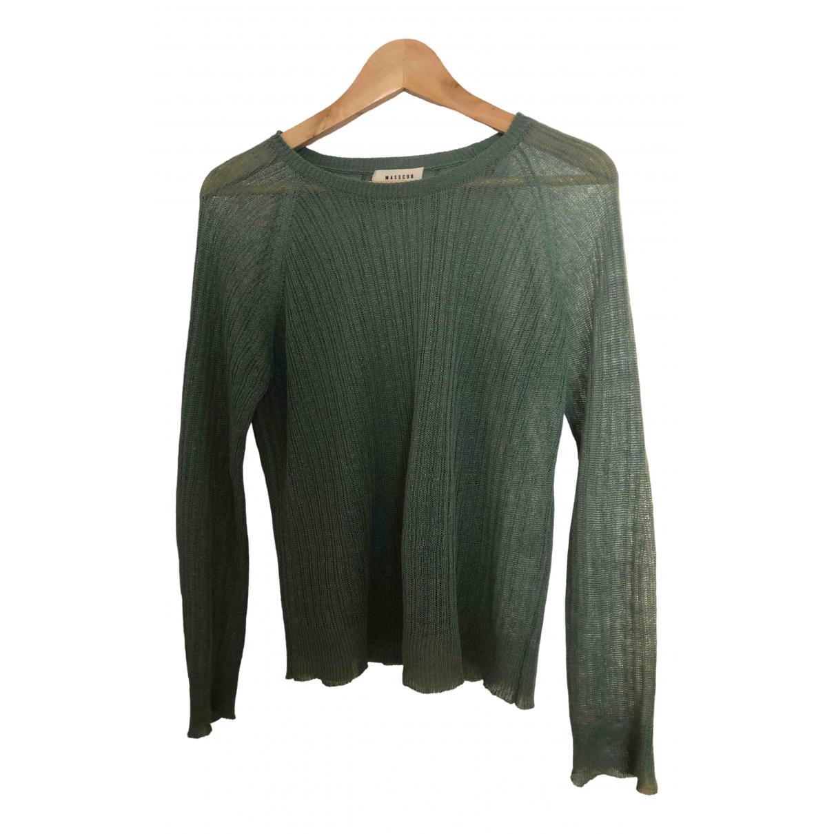 Masscob \N Green Linen Knitwear for Women M International
