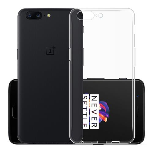 Transparent OnePlus 5 Soft Case Silicon Back Cover High Quality Protective Phone Shell