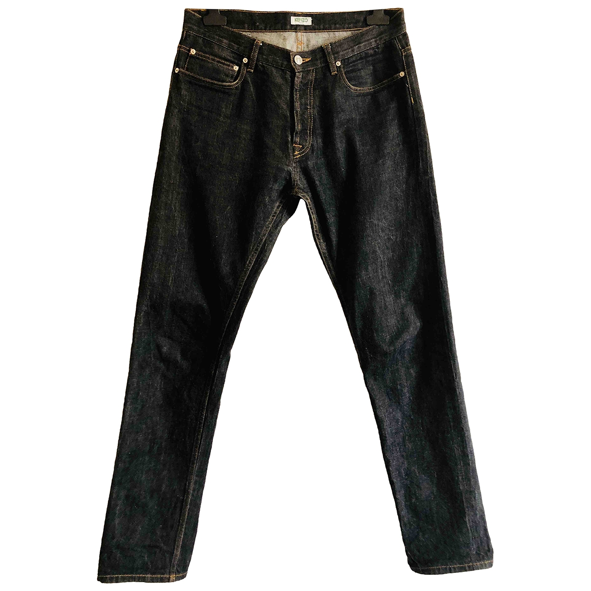 Kenzo \N Navy Cotton Jeans for Men 31 US