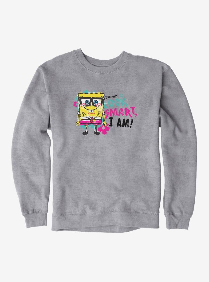 SpongeBob SquarePants Look Smart Am Smart Sweatshirt