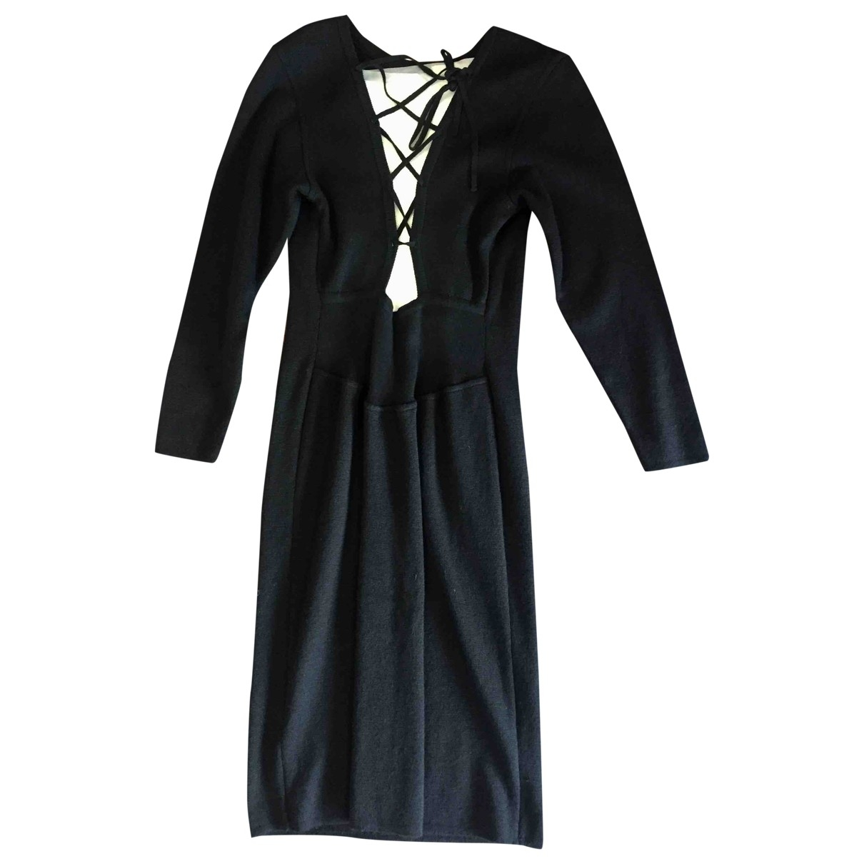 Rodier \N Black Wool dress for Women 40 FR