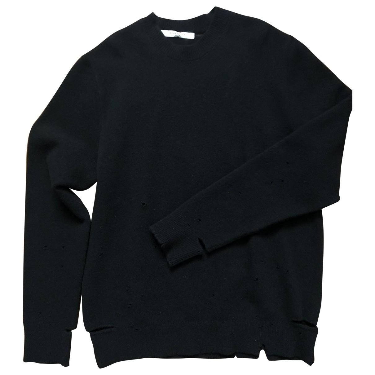 Givenchy \N Black Wool Knitwear & Sweatshirts for Men L International