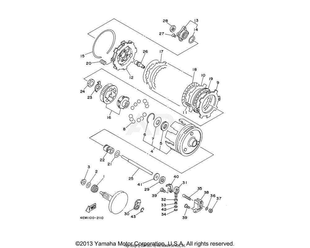 Yamaha OEM 90151-06070-00 SCREW, COUNTERSUNK