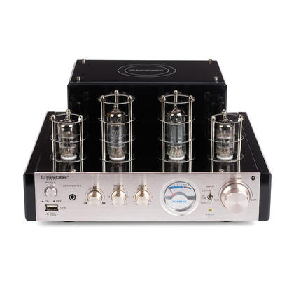 Tube Amp 25W Stereo Hybrid Hi-Fi Speaker Amplifier with Bluetooth - PrimeCables®-Free Shipping