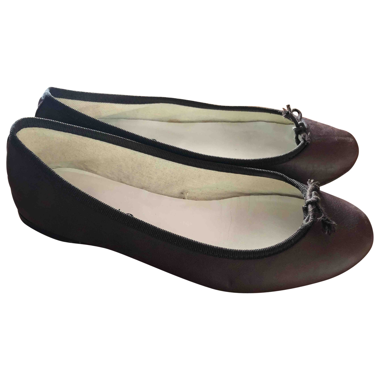 Repetto \N Brown Leather Ballet flats for Women 39 EU