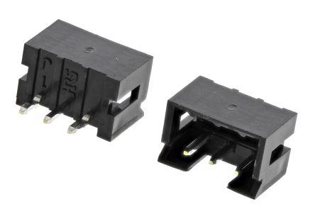Hirose , DF3, 3 Way, 1 Row, Straight PCB Header (10)
