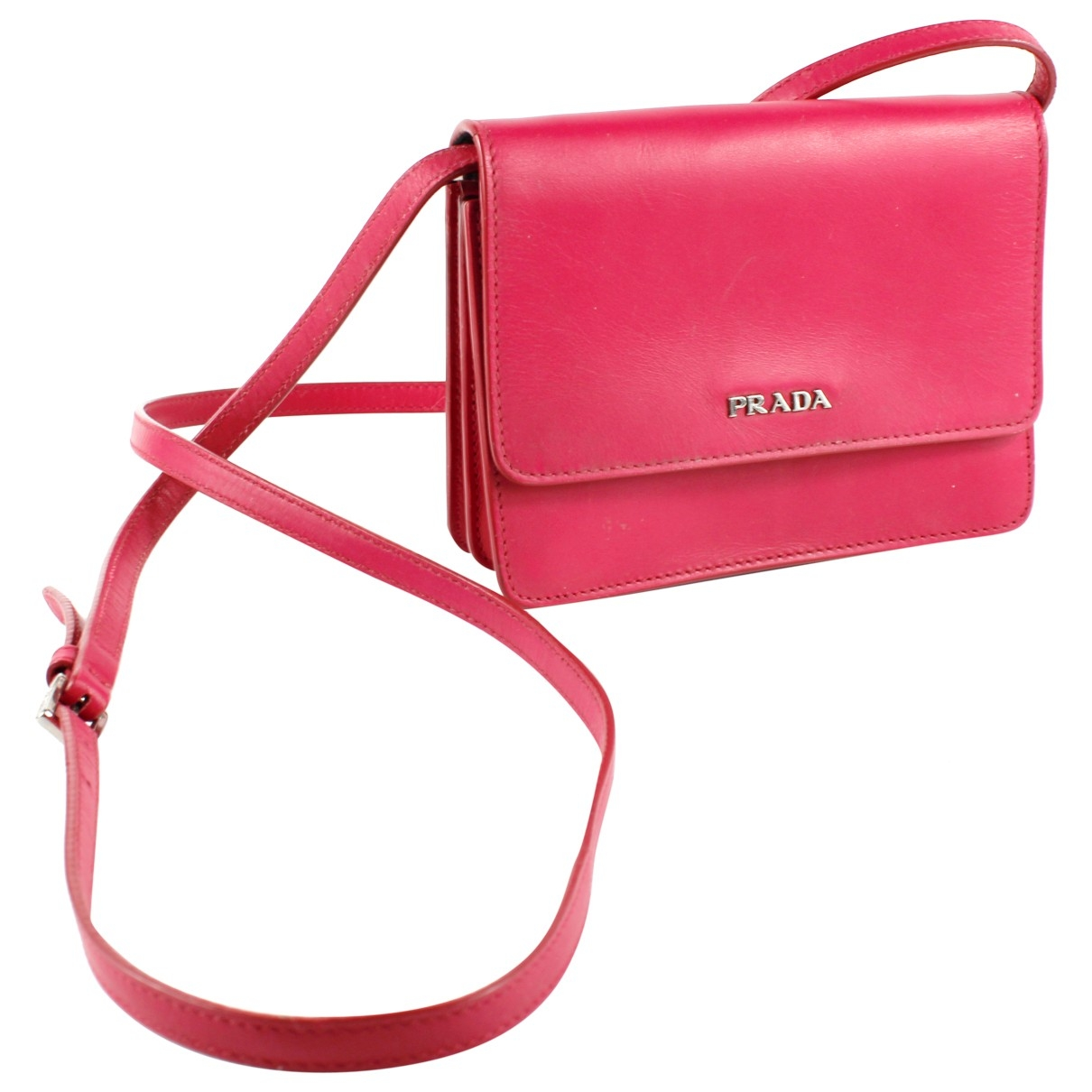 Prada \N Pink Leather handbag for Women \N