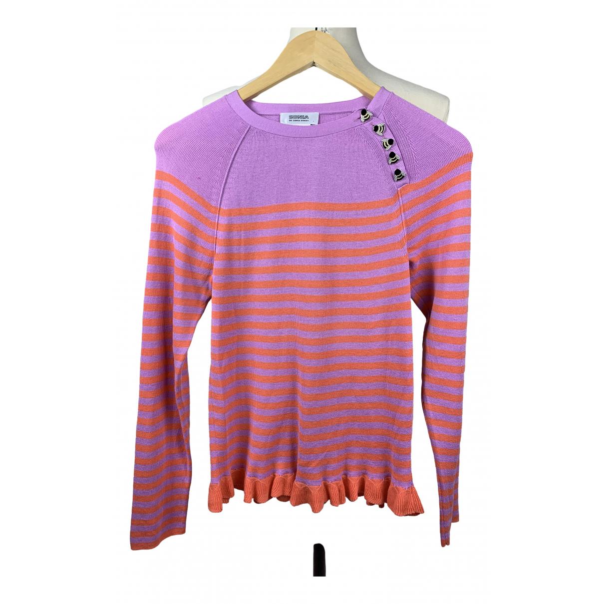 Sonia By Sonia Rykiel \N Pink Cotton Knitwear for Women L International