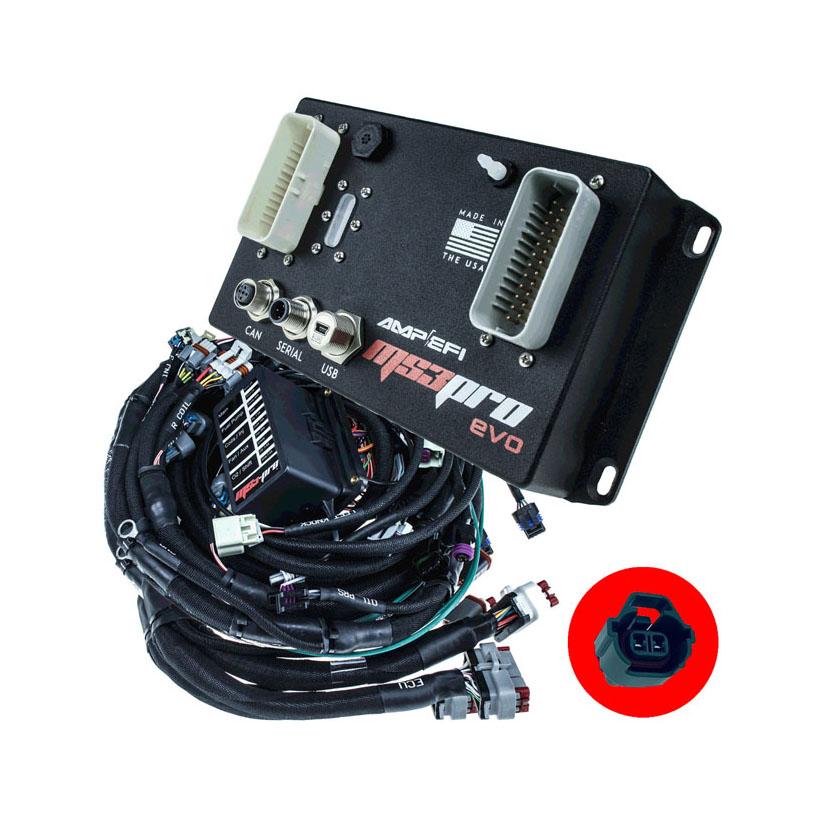 Custom Harness EVO + GM Gen4 LS W/ Denso DIYAutoTune MS3VE-LS58XDENSO_PKG
