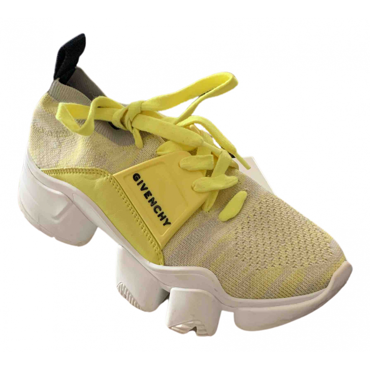 Givenchy \N Yellow Cloth Trainers for Women 35 EU