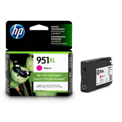 HP 951XL CN047AN cartouche d'encre originale magenta haute capacite
