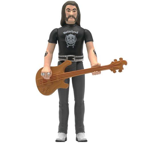 Motorhead Lemmy 3 3/4-Inch ReAction Figure