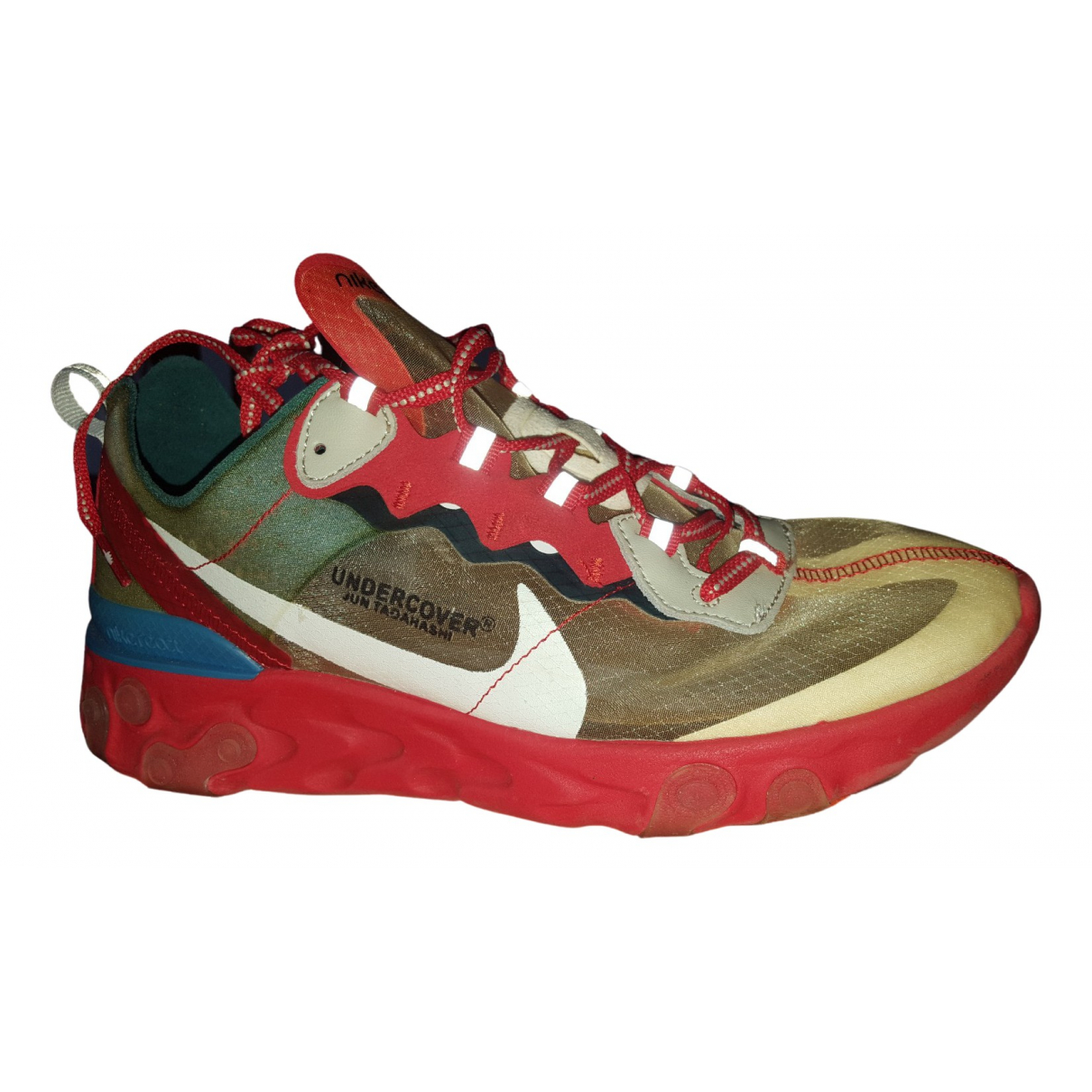 Nike \N Red Cloth Trainers for Men 41 EU