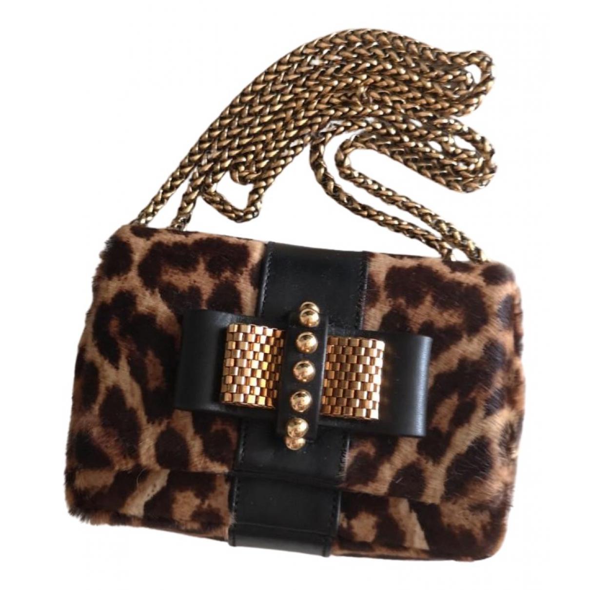 Christian Louboutin Sweet Charity Multicolour Leather handbag for Women \N