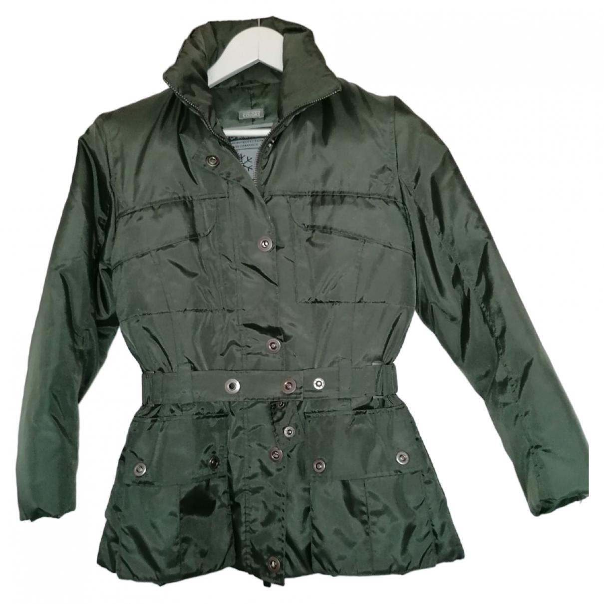 Benetton \N Green jacket for Women 40 FR
