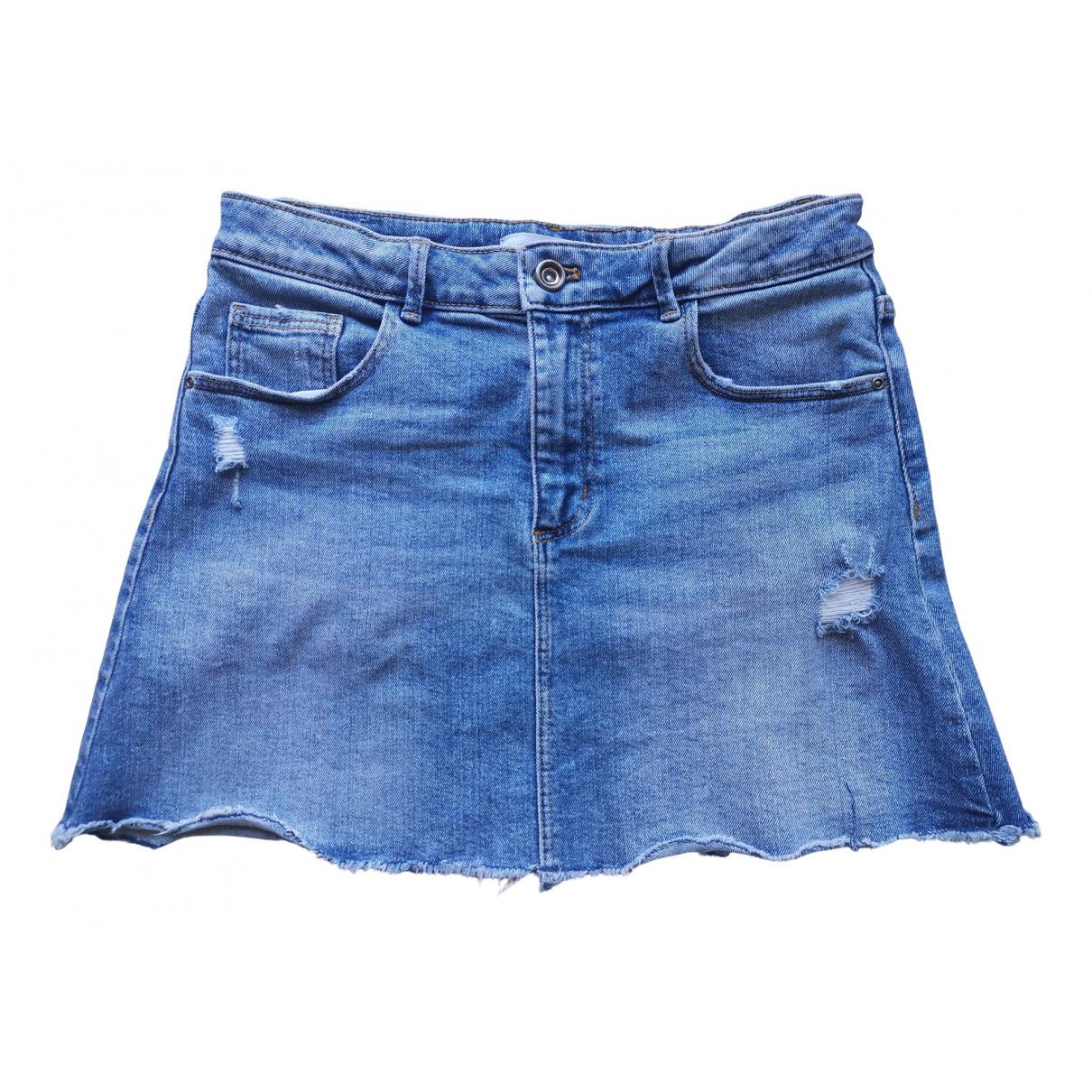 Zara \N Blue Denim - Jeans skirt for Kids 12 years - XS FR