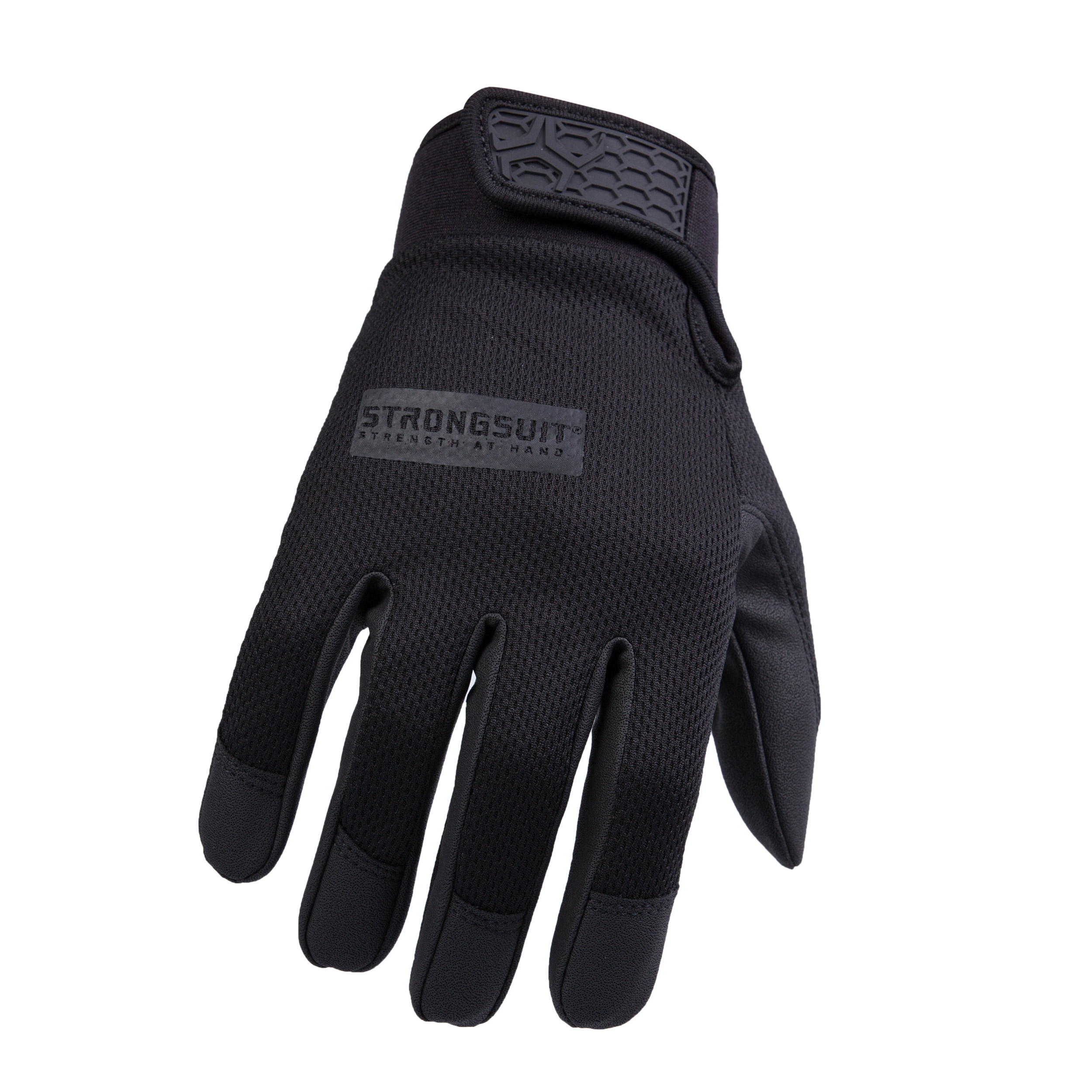 Second Skin Gloves, Black, Medium