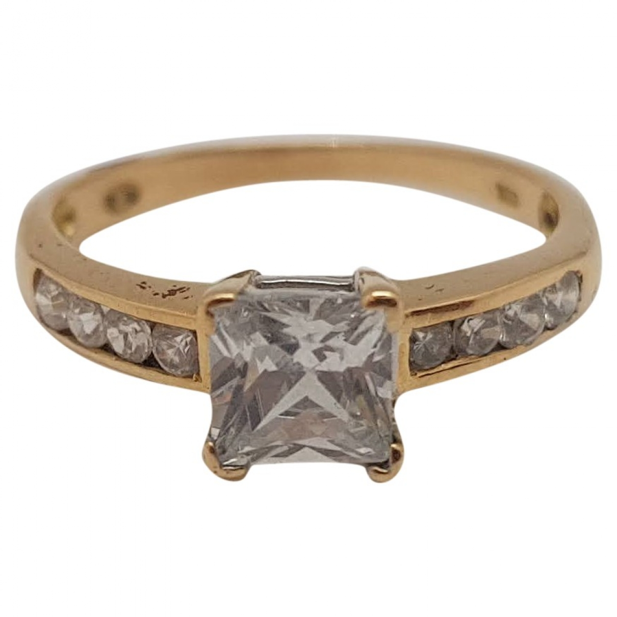 Non Signé / Unsigned \N Yellow Yellow gold ring for Women 49 EU