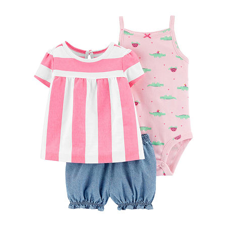Carter's Baby Girls Short Set, 24 Months , Multiple Colors