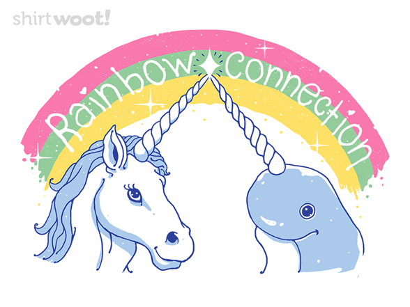 Magical Rainbow Connection T Shirt
