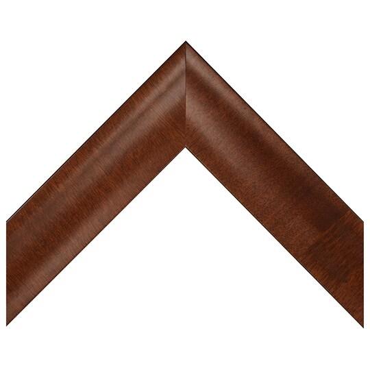 Large Dark Walnut Satin Veneer Custom Frame By Michaels® in Brown | 8 X 10 | Wood