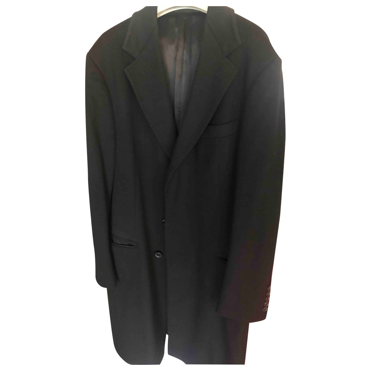 Gucci \N Black Wool coat  for Men 50 IT