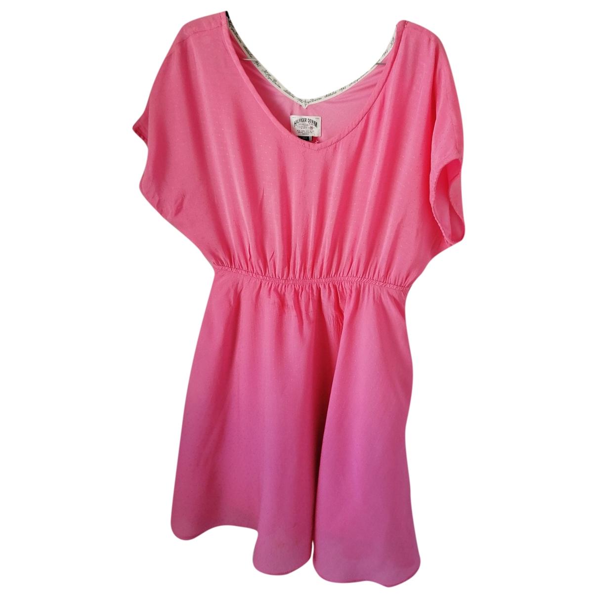 Tommy Hilfiger \N Pink Cotton dress for Women XS International