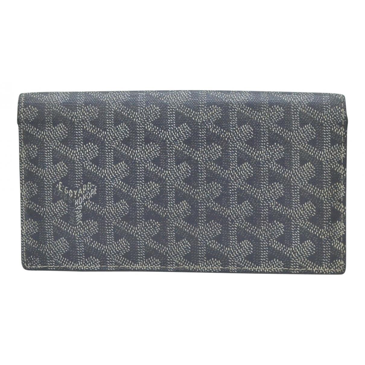 Goyard \N Grey Cloth wallet for Women \N