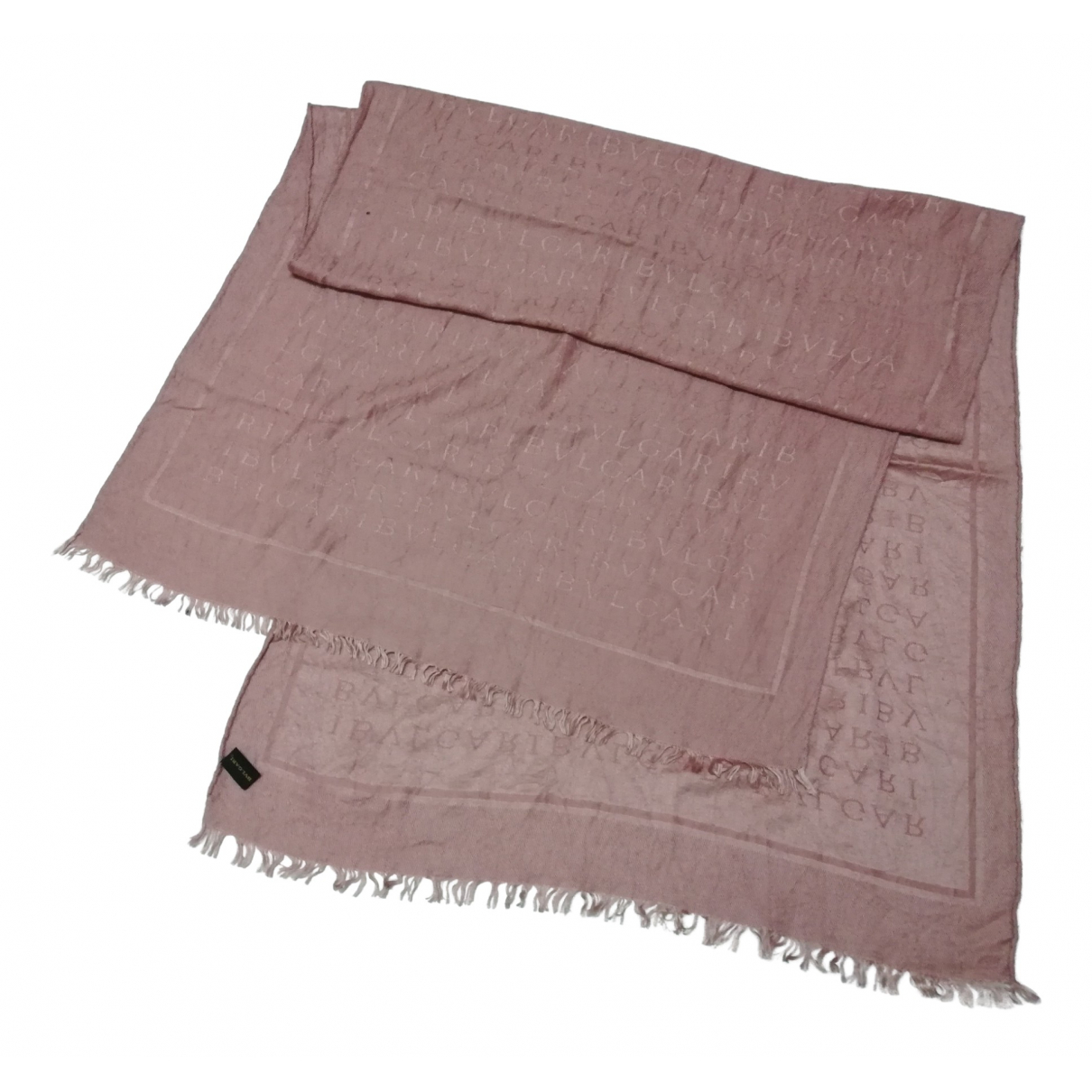Bvlgari \N Pink Silk scarf for Women \N